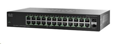 Cisco switch SG112-24, 22x10/100/1000, 2xGbE SFP/RJ-45