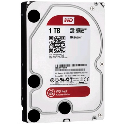 WD RED NAS WD10EFRX 1TB SATA/600 64MB cache