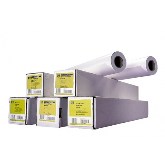 HP Universal Coated Paper-1524 mm x 45.7 m,  4.9 mil,  90 g/m2, Q1408B