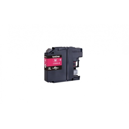 BROTHER INK LC-525XLM magenta (ISO / IEC 24711) DCP-J100 / DCP-J105 / MFC-J200 cca 1300