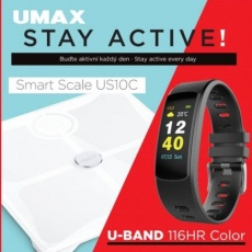 UMAX Stay Active! Smart Scale US10C + U-Band 116HR