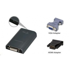 iTec USB Full HD Adapter TRIO (DVI-I / VGA / HDMI)