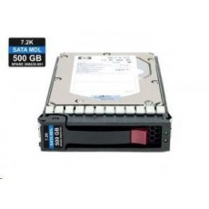 "HP HDD 500GB SATA SFF 2.5"" MDL (Mid-Line) 7.2k 3Gbps refurbished"
